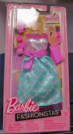 Barbie Doll Fashion Clothes Fashionista Christmas Gift New Condition 11   eBay