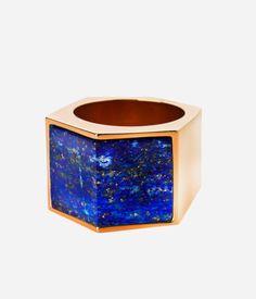 Luxe Semi-Precious Bold Ring | Products | Henri Bendel