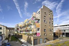 K.I.S.S apartment building in Zurich by Camenzind Evolution
