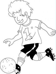 Fußball 3 Ausmalbilder