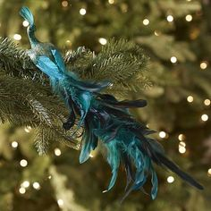 Peacock Clip Ornament
