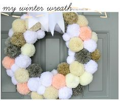 a winter wreath. winter break. and a little insta ♥