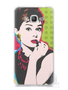 Capa Samsung Gran Prime Audrey Hepburn #3 - SmartCases - Acessórios para celulares e tablets :)