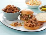 Get pulled pork recipes for sandwiches, tacos, nachos, barbecue and more on Cooking Channel. Use techniques like slow cooking and roasting for tender pork. Alton Brown Pulled Pork, Perfect Pulled Pork, Bbq Pulled Pork Recipe, Sandwiches, Pork Sandwich, Instant Pot, Food Network Recipes, Cooking Recipes, Cooking Videos