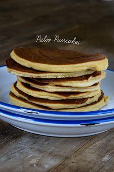 Paleo Pancakes (Gluten Free Dairy Free Grain Free). Delicious!