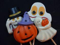 Mais pirulitos temáticos... Aqui Halloween
