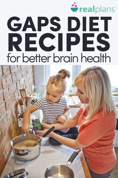 Sounds like some great ideas for an adhd diet for kids. GAPS Diet Recipes For Better Brain Health - Gaps Diet Recipes, Paleo Diet, Health Recipes, Paleo Recipes, Keto, Recetas Scd, Adhd Diet, Best Brains, Clean Eating Diet