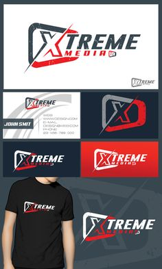 Logo design for extreme sports photography company by Wivaxx