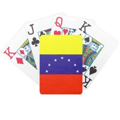 Venezuela Flag Bicycle Poker Deck