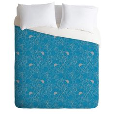 Aimee St Hill Simply June Blue Duvet Cover | DENY Designs Home Accessories