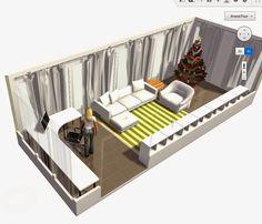 Home Design Software Free, Interior Design Software, Free Floor Plans, House Floor Plans, Home Renovation, Home Remodeling, Rearrange Room, Floor Design, House Design