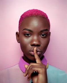 black girl with colored hair pink hair colorful hair inspiration. black girl with colored hair pink hair colorful hair inspiration. Pelo Natural, Natural Hair Care, Natural Hair Styles, Natural Beauty, Popular Short Hairstyles, Black Women Hairstyles, Short Haircuts, Beautiful Hairstyles, Trendy Hairstyles