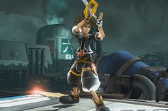 awesome Modification adds Sora from 'Kingdom Hearts' to 'Super Smash Bros.' for Wii U