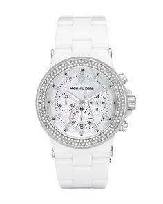 Glitz Acrylic Watch by Michael Kors at Neiman Marcus.