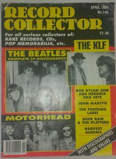 Motorhead The Beatles Record Collector Magazine April 1991 Unitied Kingdom