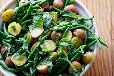 Baby New Potato and Green Bean Salad with Lemon-Basil Pesto Vinaigrette. Recipe by Kim Laidlaw. Photo: Wendy Goodfriend