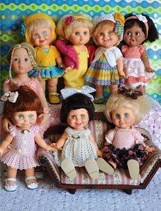 Baby Face é uma linha de bonecos personalizados por Mel Birnkrant, em 1990 e fabricados pela Galoob Brinquedo Americano, que foi lançado em 1991. Medem 33 centímetros e são feitos de vinil pesado de boa qualidade e têm articulação na cabeça, ombros, quadris, cotovelos e joelhos. Seus olhos são fixos e de cores diferentes, assim como o tom de cabelo e pele.