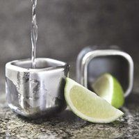Stainless Steel Freezable Shot Glasses - $50