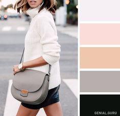 15 Delicadas combinaciones de colores para tu ropa