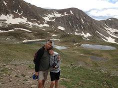 amazing mountain trek with mum and dad