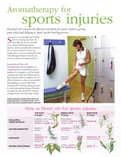 Young Living Essential Oils: Sports Injuries www.fb.com/HealingLotusAromatherapy