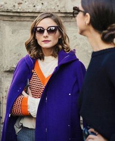 Retro girl in @MaxandCo at #MilanFashionWeek    @alexiamgniph  #oliviapalermo #fashion #style #stylish #streetstyle #beauty #beautiful #mfw #fabulous ... - Olivia Palermo Admirers (@inspired_by_olivia_palermo)