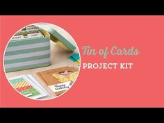 Patty's Stamping Spot Stampin' UP! Tin of Cards Project kit for handmade cards!