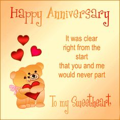 44 Best Happy Anniversary To My Husband Images Birthday Cards