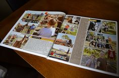 Printed Digital Project Life Photobook Review