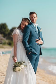 Destination wedding photographers in Greece. Get inspired for your wedding day. Greece Wedding, Beautiful Couple, Destination Wedding Photographer, Christening, Big Day, Real Weddings, Photographers, Wedding Day, Wedding Photography