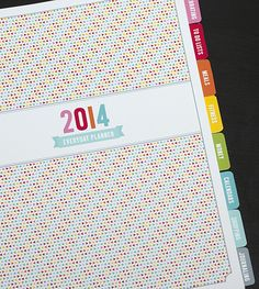 2014 Everyday Planner | MissTiina.com {Blog}