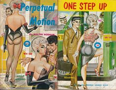 Perpetual Motion & One Step Up (art by Gene Bilbrew)