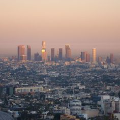Los Angeles CA~we traveled here often~beautiful city.  Be prepared to drive 85 to stay alive!  1993-1995