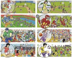 Team sports vocabulary and conversation English lesson in PDF