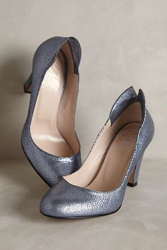 Nora Scarpe di Lusso Pilar Pumps #anthropologie Nora Scarpe di Lusso's collection is inspired by the spirit and costume of tango dancers. Their romantic all-Italian shoes are handcrafted by artisans to create the feel of treasured dancing shoes.