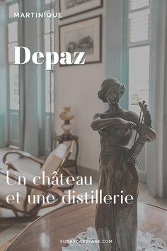 Depaz est célèbre pour sa distillerie de rhum qu'on peut visiter de février à juin. Mais tout au long de l'année, on peut aussi visiter le Château Depaz, une très belle demeure de style néo-classique construite dans les années 20 et décorée dans l'esprit de l'époque.