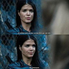 """#The100 4x01 """"Echoes"""" - Octavia"""