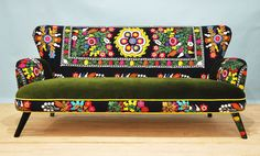 Suzani 3 seater sofa  Winter by namedesignstudio on Etsy, so very lovely!