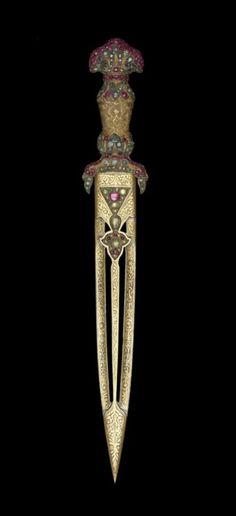 Dagger, Turkey, 1732-1733 [The Walters Art Museum]