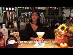 Drink Recipe for the Pumpkin Pie Martini  Learn how to make the popular Pumpkin Pie Martini served at the Reel Seafood Company. Watch as Aliki Serras, restaurant manager, takes you through the recipe step by step.