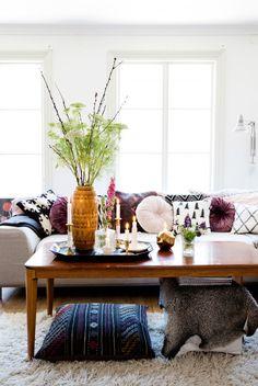 living room | Styling Kicki Wieslander | Photographer Jenny Brandt |  vtwonen november 2014