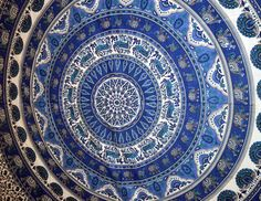 Mandala Tapestry Dorm Room Decor Art Tapestries Wall by Marusthali