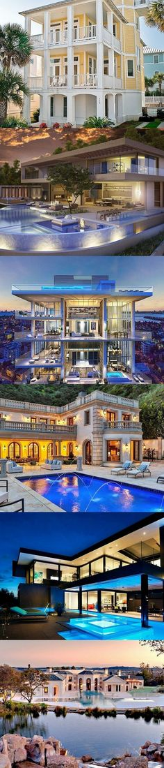 54 stunning dream homes & mega mansions from social media dream houses, dream mansion, Luxury Life, Luxury Homes, My Dream Home, Dream Homes, Dream Mansion, Mega Mansions, Expensive Houses, House Goals, Exterior Design