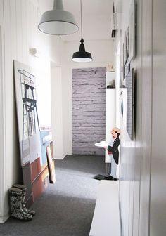 long and narrow hallway