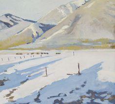 Robert Abbott . Taos in January