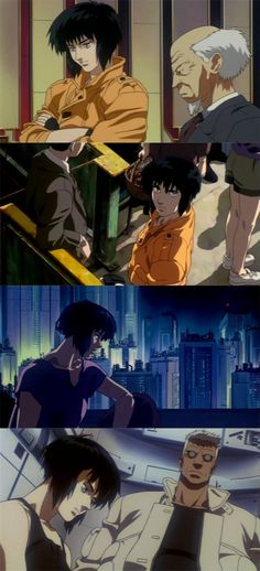 - Ghost in the Shell Cyberpunk Aesthetic, Cyberpunk Art, Old Anime, Anime Art, Character Art, Character Design, Cool Robots, Anime Films, Ghost In The Shell