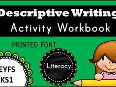 Descriptive Writing Activity Workbook for KS1