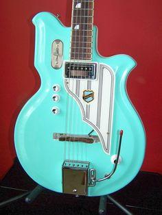 RARE 60's Vintage National Resoglas Electric Guitar