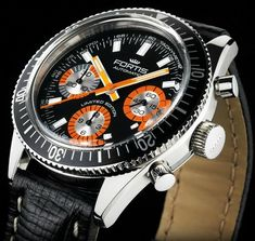 Fortis Marinemaster Vintage Limited Edition #watch  #fortis