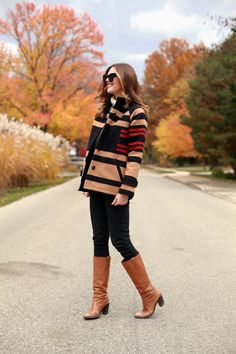 What I Wore   Homecoming, The Portland Collection Toboggan Coat, Pendleton